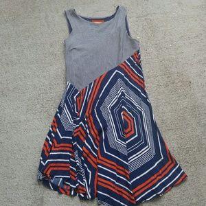 ♣️ anthropologie Maeve striped sundress large
